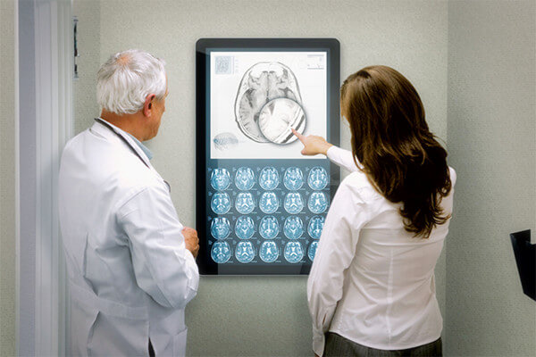 medical solution digital signage
