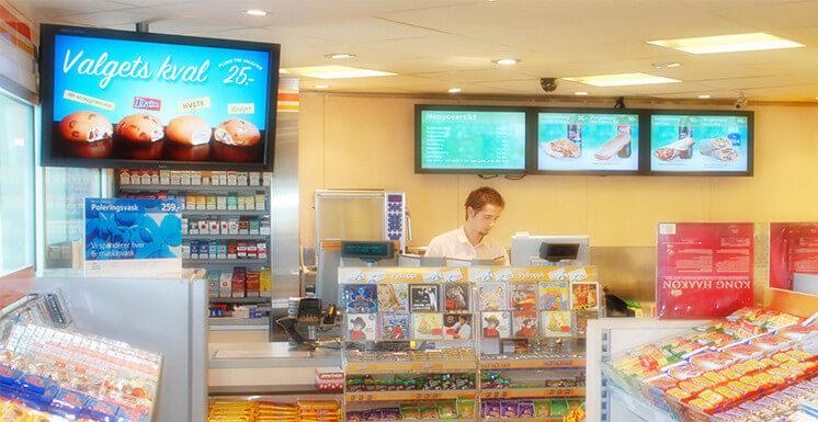 retail store solution digital signage